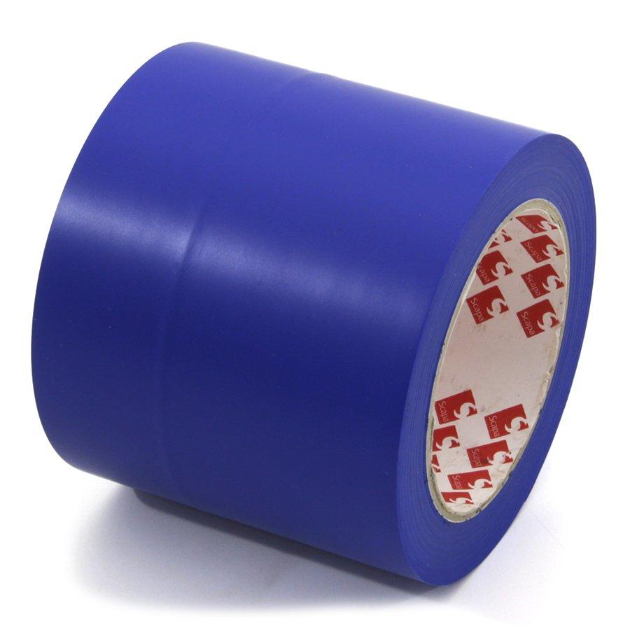 Modrá vyznačovací páska Super - délka 33 m a šířka 10 cm