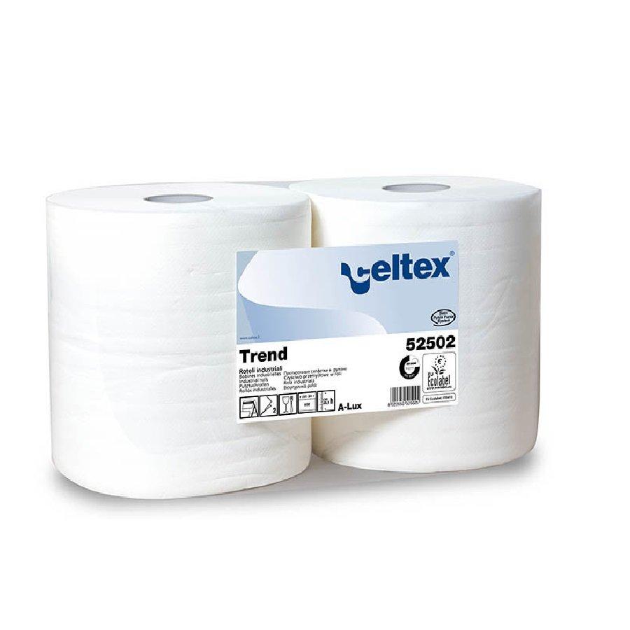 Papírová průmyslová čistící utěrka - 2 ks