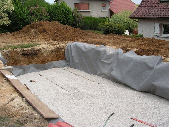 Bílá geotextilie GUTTATEX - délka 50 m, šířka 2 m a 200 g/m2