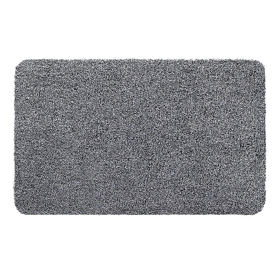 Šedá metrážová čistící vnitřní vstupní pratelná rohož Aqua Luxe, FLOMA - délka 1 cm a výška 1,2 cm