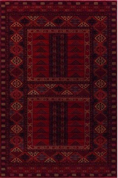 Červený kusový orientální koberec Kashqai - šířka 67 cm
