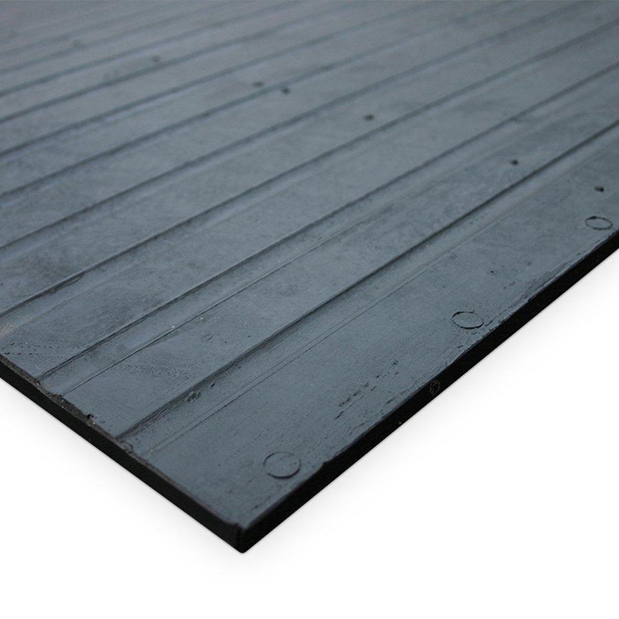 Černá fitness rohož - délka 180 cm a šířka 120 cm