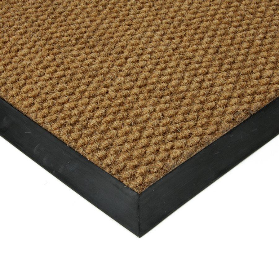 Béžová textilní vnitřní čistící zátěžová vstupní rohož FLOMA Fiona - délka 50 cm, šířka 80 cm a výška 1,1 cm