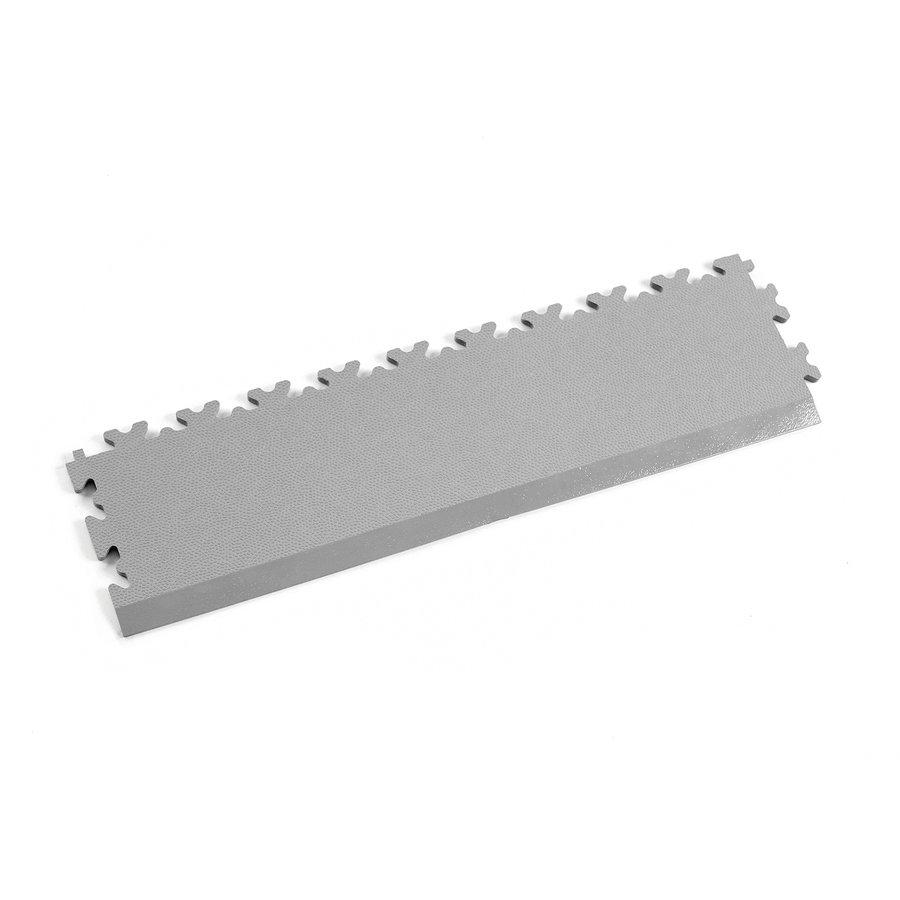 Šedý vinylový plastový nájezd 2025 (kůže), Fortelock - délka 51 cm, šířka 14 cm a výška 0,7 cm