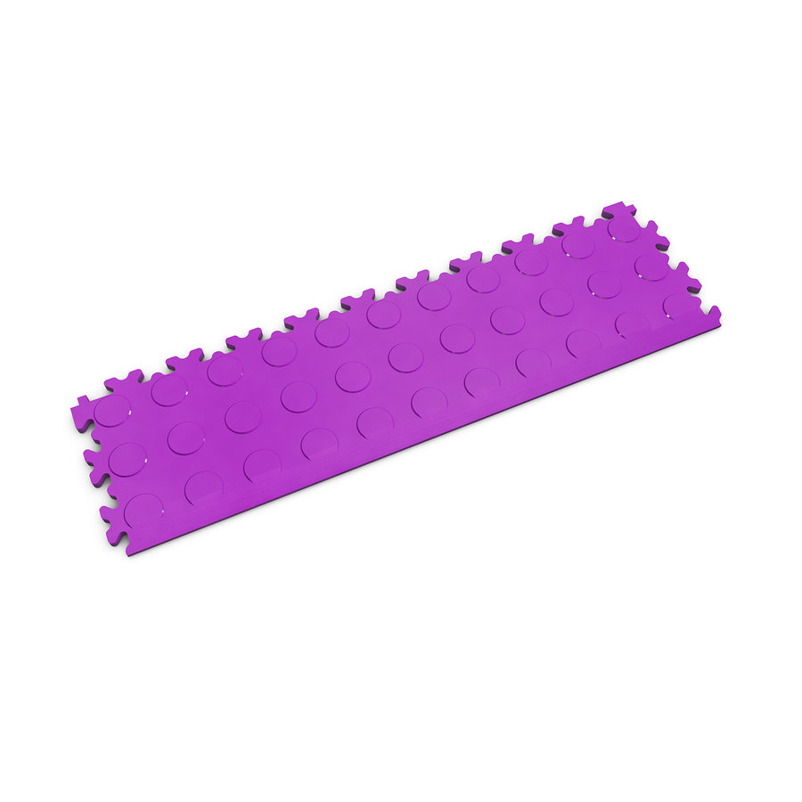 Fialový vinylový plastový nájezd 2045 (penízky), Fortelock - délka 51 cm, šířka 14 cm a výška 0,7 cm
