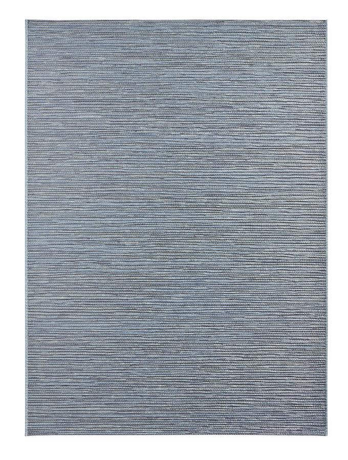 Modrý kusový koberec Lotus - délka 170 cm a šířka 120 cm