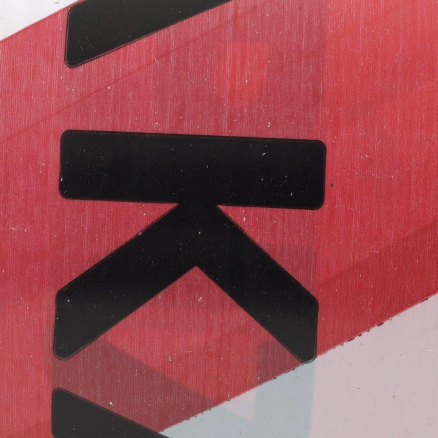 """Bílo-červená vytyčovací páska """"ZÁKAZ VSTUPU"""" - délka 250 m a šířka 7,5 cm"""