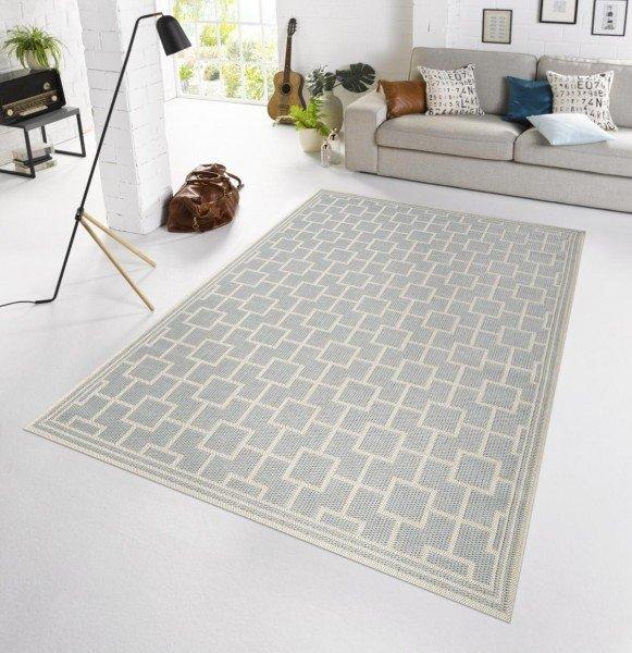 Šedý kusový moderní koberec Botany
