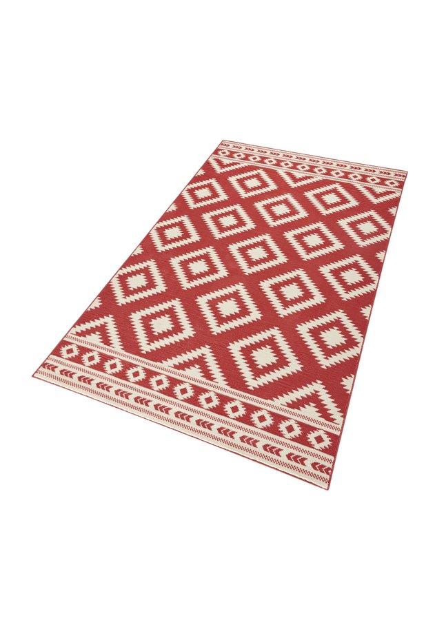 Červený kusový moderní koberec Gloria - šířka 80 cm