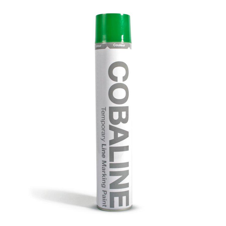 Zelená aerosolová rychleschnoucí krátkodobá barva - objem 750 ml