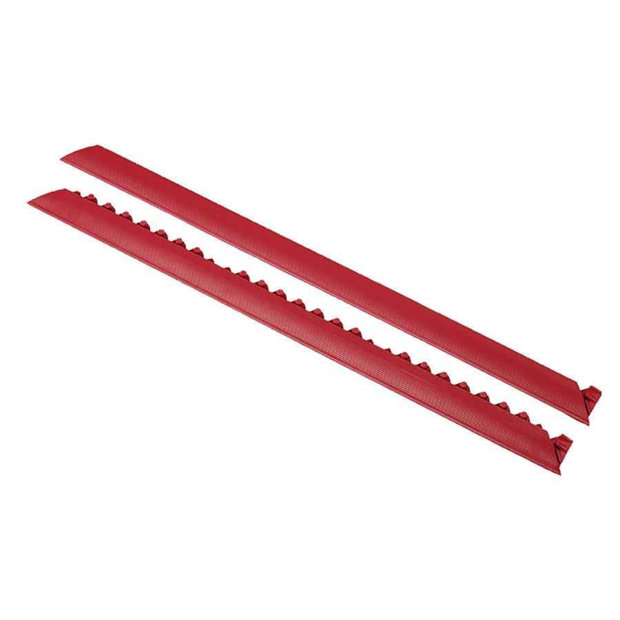 """Červená náběhová hrana """"samec"""" MD Ramp System Nitrile - délka 91 cm a šířka 5 cm"""
