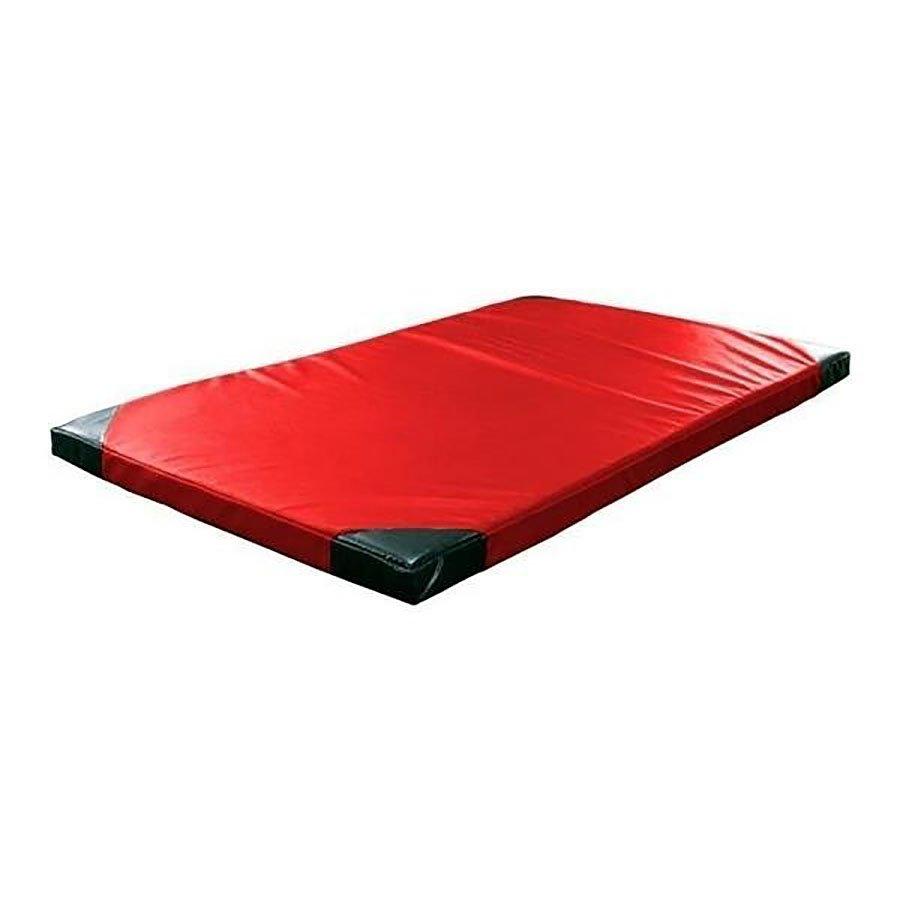 Červená žíněnka (tvrdost T40) GYMAT 02 - délka 200 cm, šířka 120 cm a výška 10 cm