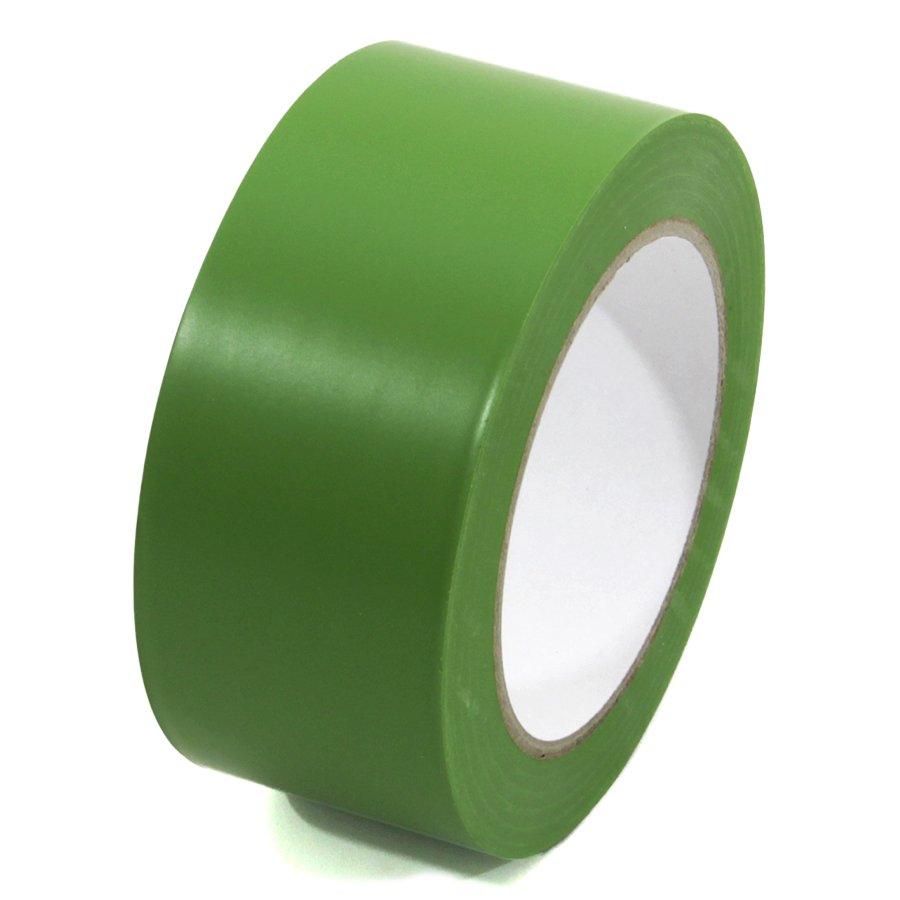 Zelená vyznačovací páska Standard - délka 33 m a šířka 5 cm
