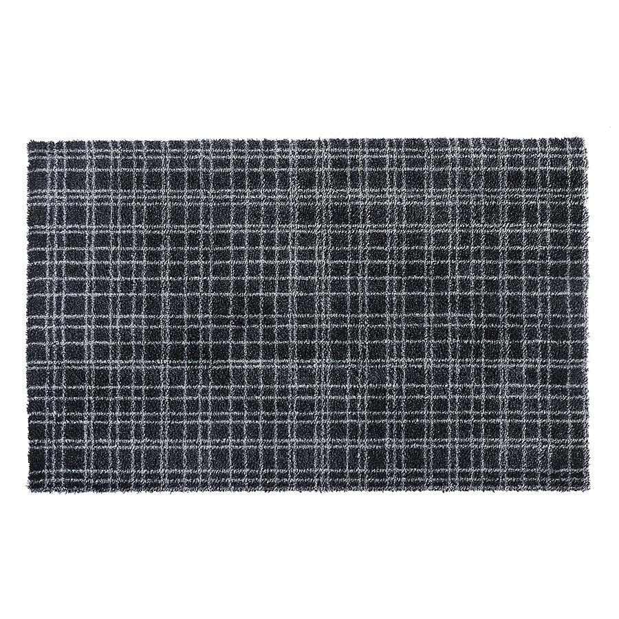 Antracitová vnitřní vstupní čistící pratelná metrážová rohož Fusion Dry - délka 1 cm a šířka 100 cm