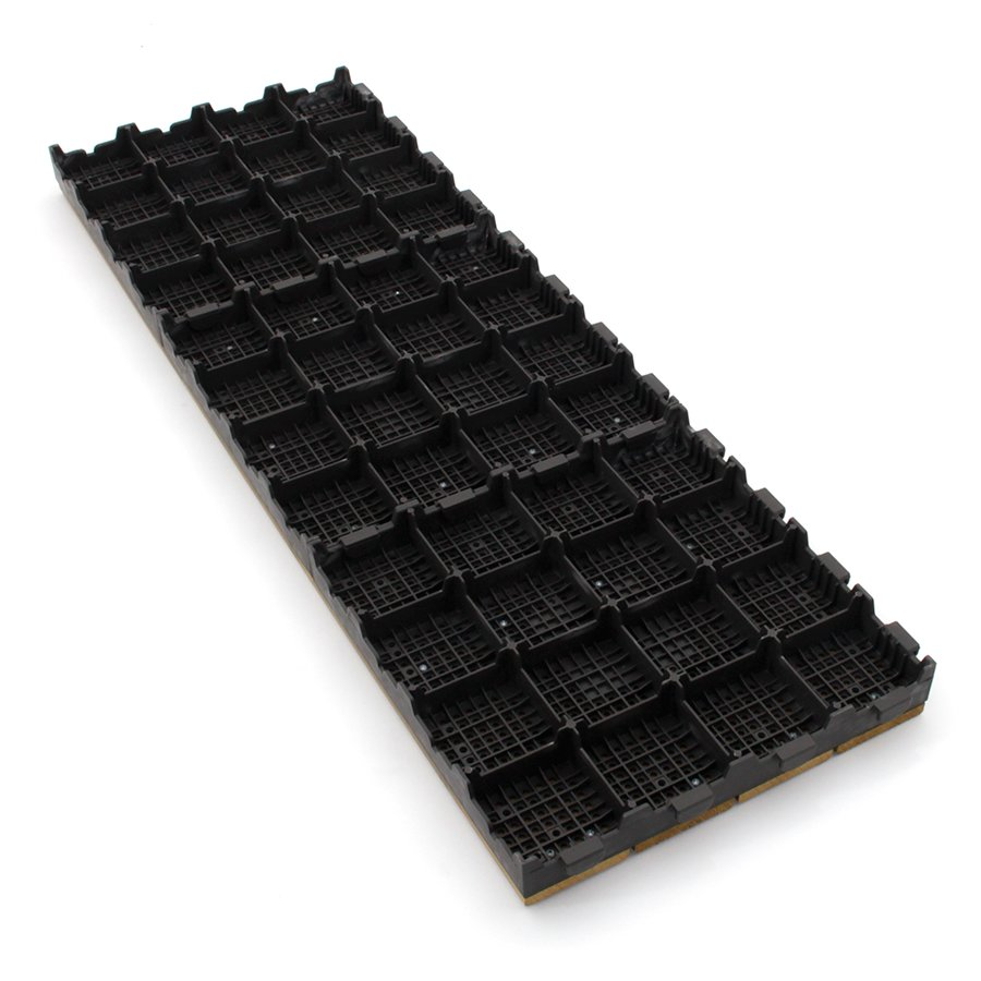Dřevěná terasová dlažba Linea Combi-Wood - délka 40 cm, šířka 118 cm a výška 6,5 cm
