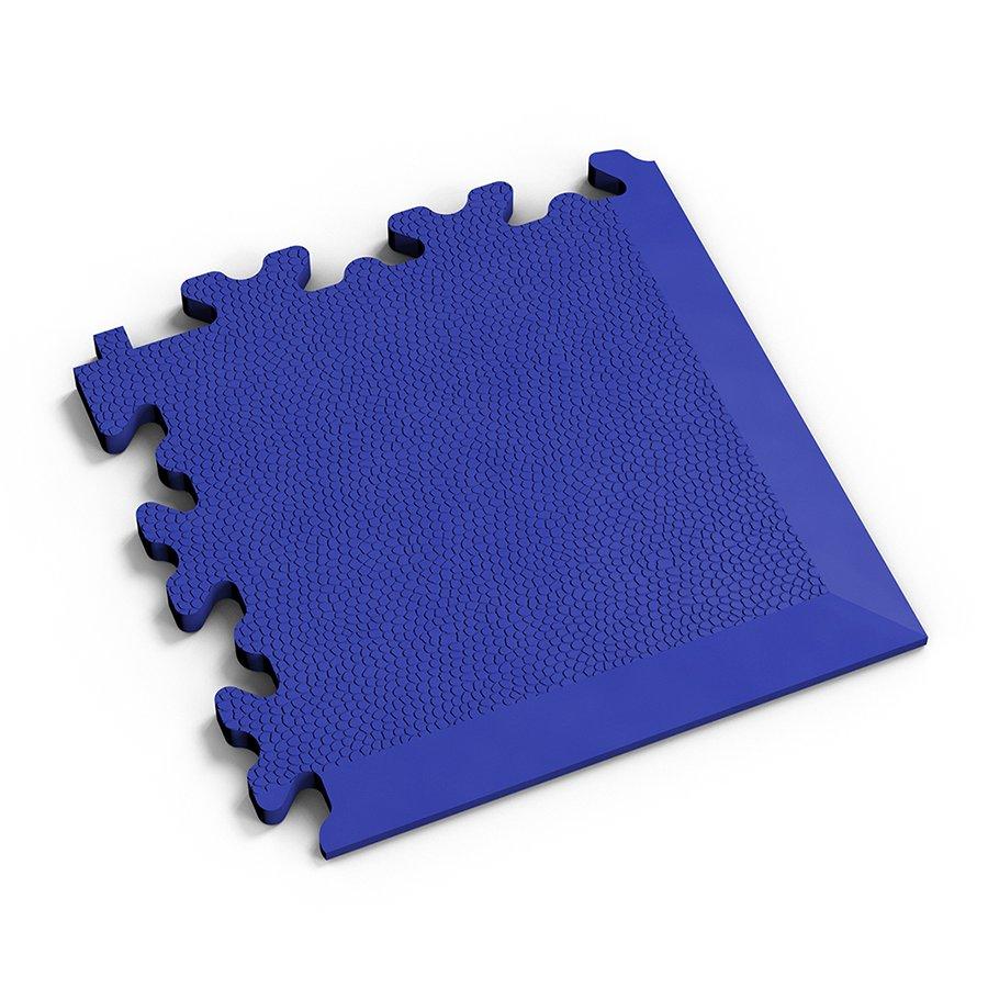 Modrý vinylový plastový rohový nájezd 2026 (kůže), Fortelock, 01 - délka 14 cm, šířka 14 cm a výška 0,7 cm
