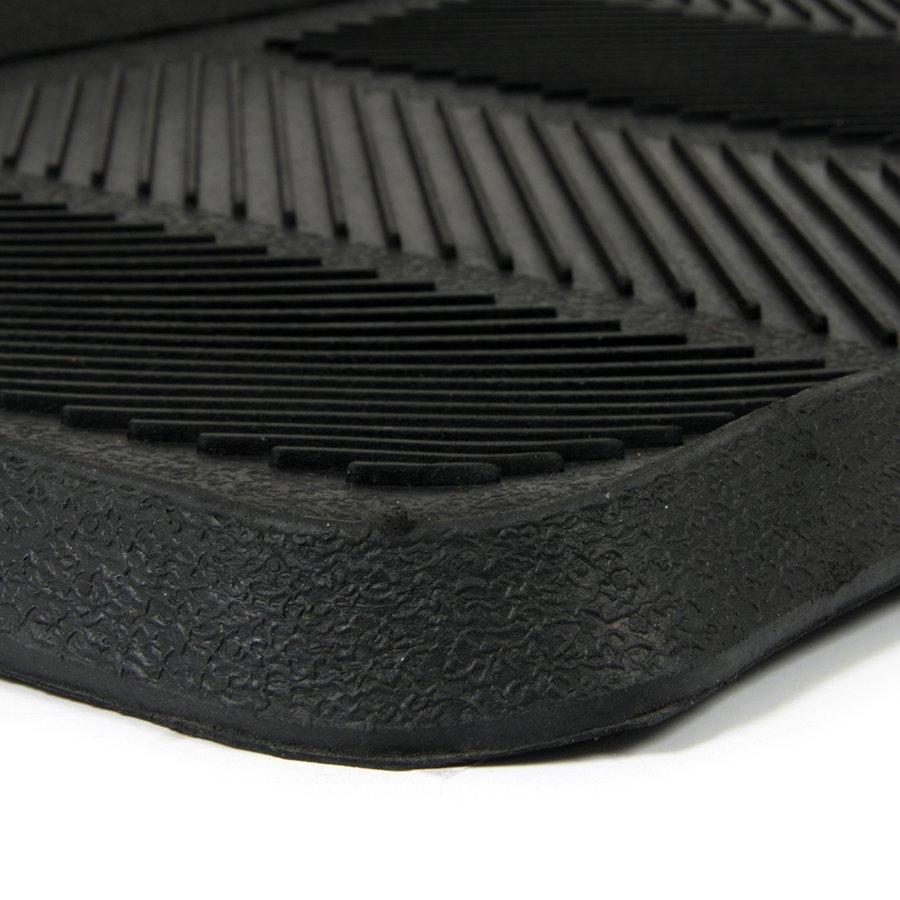 Gumový odkapávač na boty Lines, FLOMA - délka 40 cm, šířka 90 cm a výška 2,5 cm