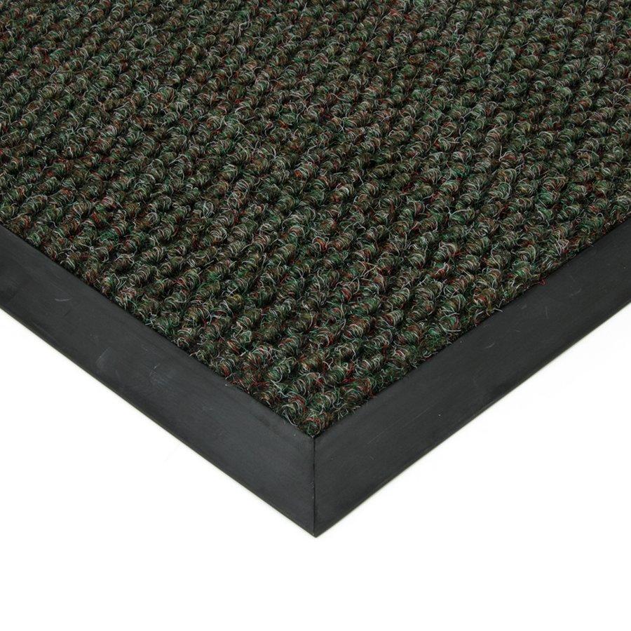 Zelená textilní zátěžová čistící vnitřní vstupní rohož FLOMA Fiona - výška 1,1 cm