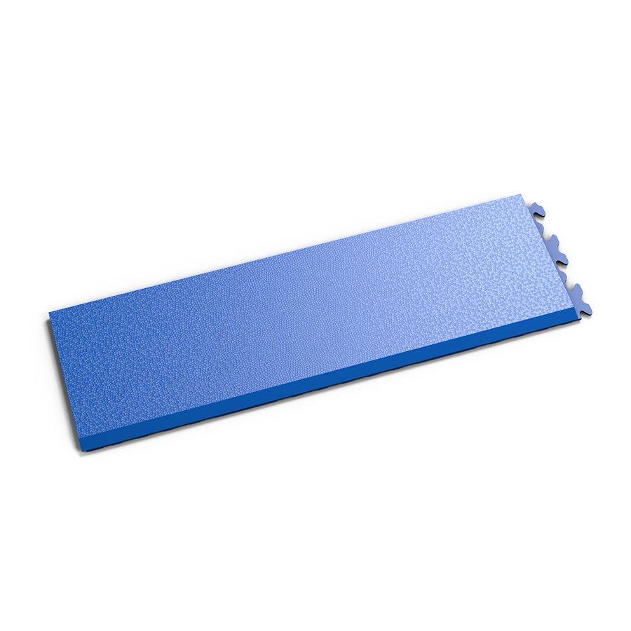 """Modrý vinylový plastový nájezd """"typ A"""" Invisible 2035 (hadí kůže), Fortelock - délka 46,8 cm, šířka 14,5 cm a výška 0,67 cm"""