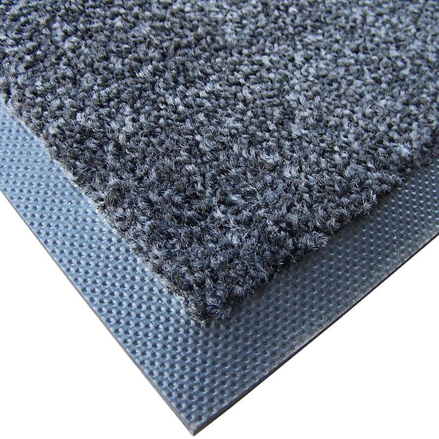 Antracitová textilní zátěžová čistící vnitřní vstupní rohož Magic - výška 0,8 cm