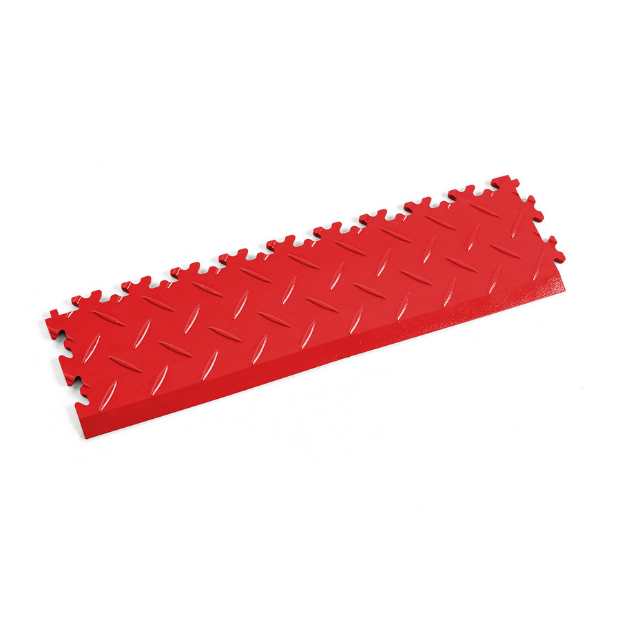 Červený vinylový plastový nájezd 2015 (diamant), Fortelock - délka 51 cm, šířka 14 cm a výška 0,7 cm