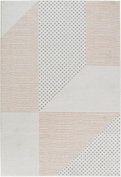 Bílý kusový moderní koberec Madison