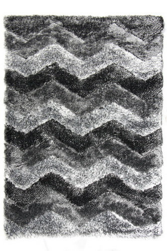 Černý kusový koberec Istanbul - délka 150 cm a šířka 80 cm
