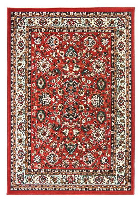 Červený kusový orientální koberec Teheran-T