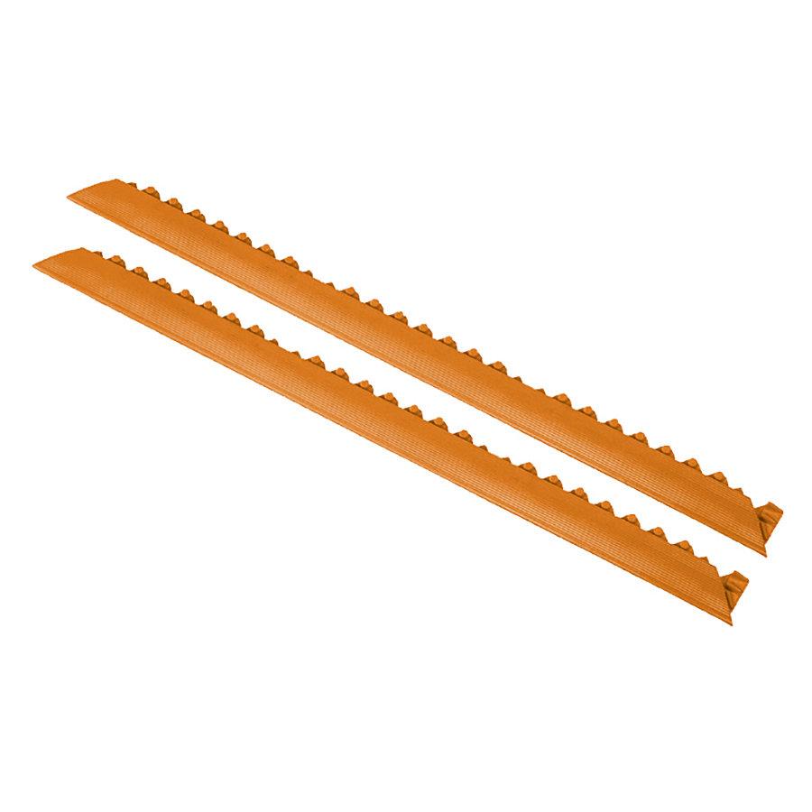 """Oranžová náběhová hrana """"samice"""" MD Ramp System Nitrile - délka 91 cm a šířka 5 cm"""