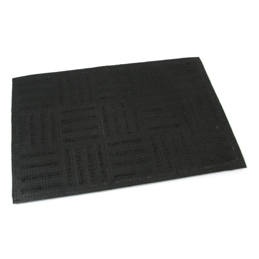 Kokosová vstupní venkovní čistící rohož Lines - Squares, FLOMA - délka 60 cm, šířka 90 cm a výška 2,2 cm