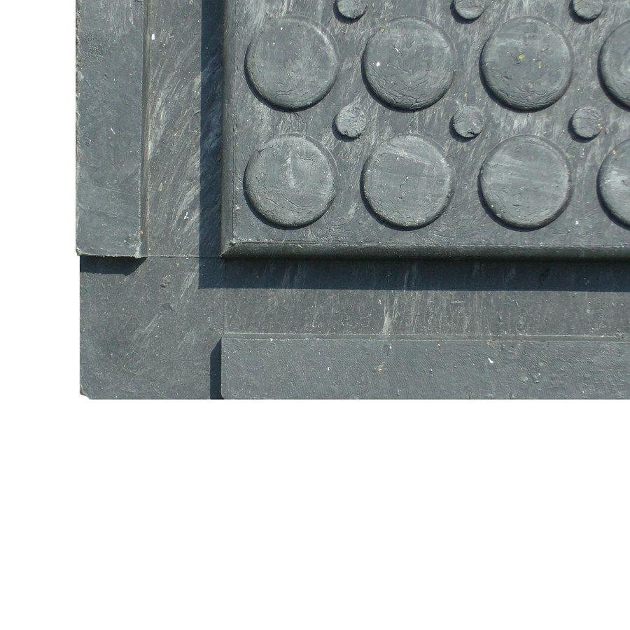 PVC vinylová univerzální zátěžová podlahová deska FLOMA RePVC T606 - délka 120 cm, šířka 80 cm a výška 4,3 cm