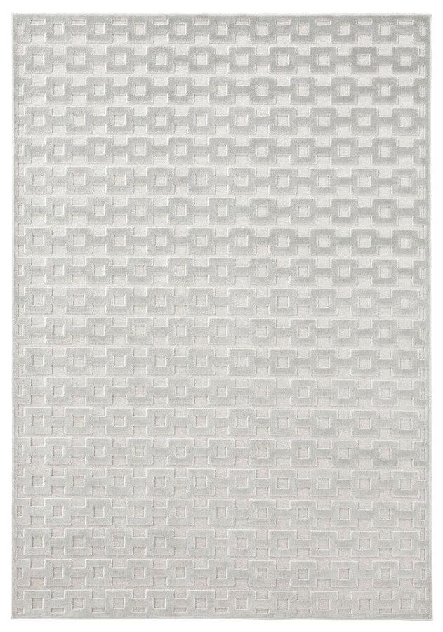 Šedý kusový moderní koberec Mint Rugs, Bouton
