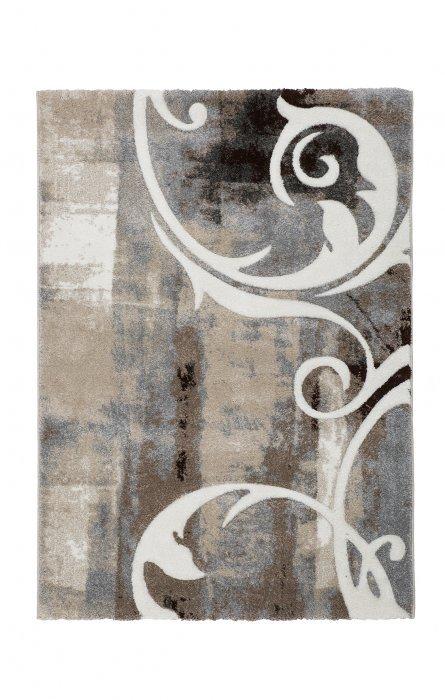 Hnědý kusový koberec Acapulco - délka 170 cm a šířka 120 cm