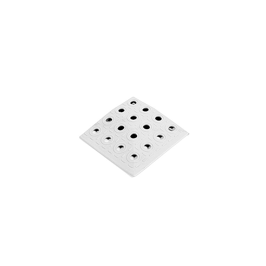 Bílý plastový roh AvaTile AT-HRD - délka 13,7 cm, šířka 13,7 cm a výška 1,6 cm