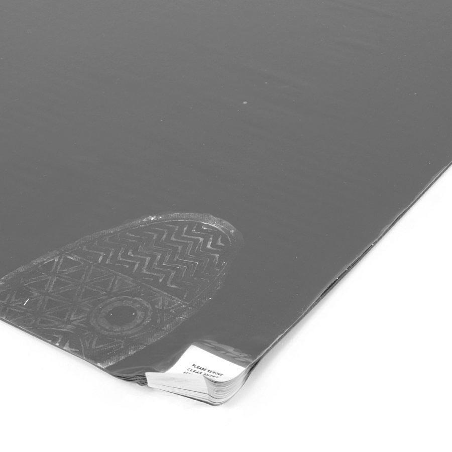 Šedá lepící dezinfekční hygienická rohož - délka 115 cm, šířka 60 cm a výška 0,2 cm - 60 listů