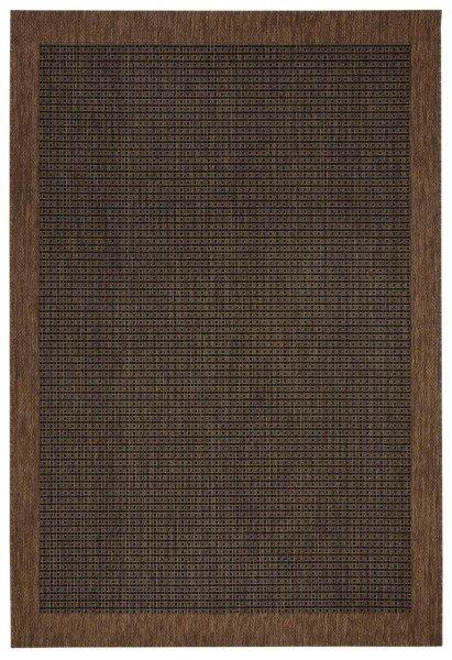 Hnědý kusový koberec Natural