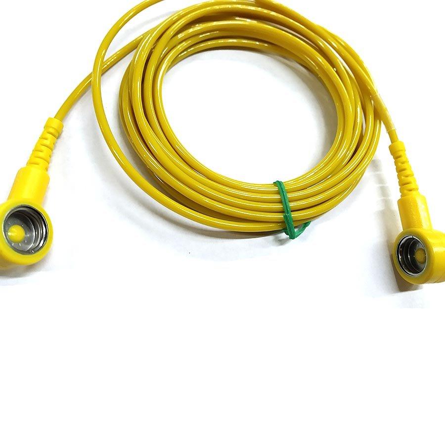 Uzemňovací kabel pro ESD rohože - délka 300 cm