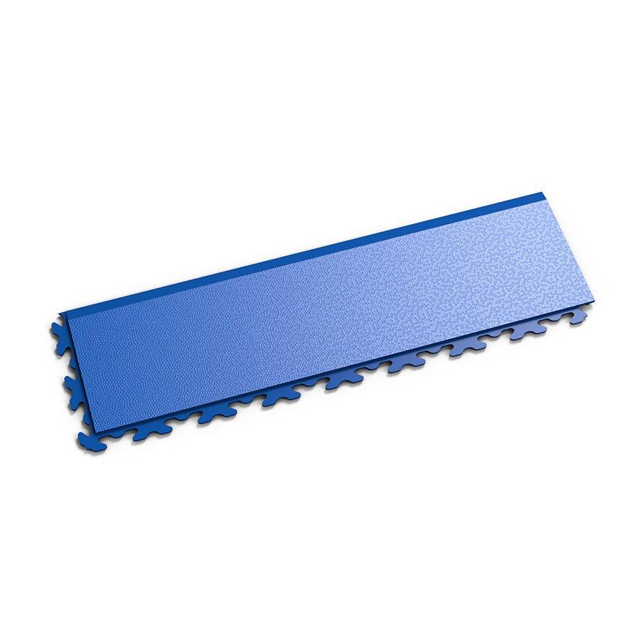"""Modrý vinylový plastový nájezd """"typ B"""" Invisible 2034 (hadí kůže), Fortelock - délka 46,8 cm, šířka 14,5 cm a výška 0,67 cm"""