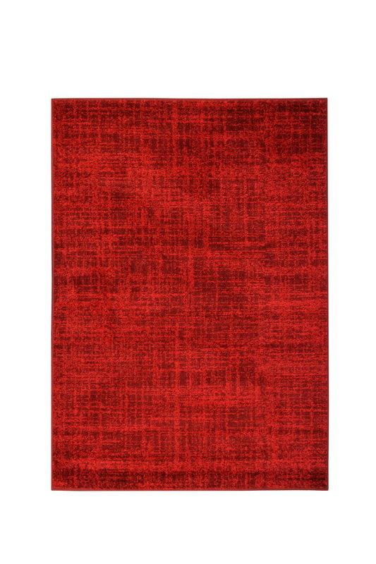 Červený kusový koberec Armoni - délka 170 cm a šířka 120 cm