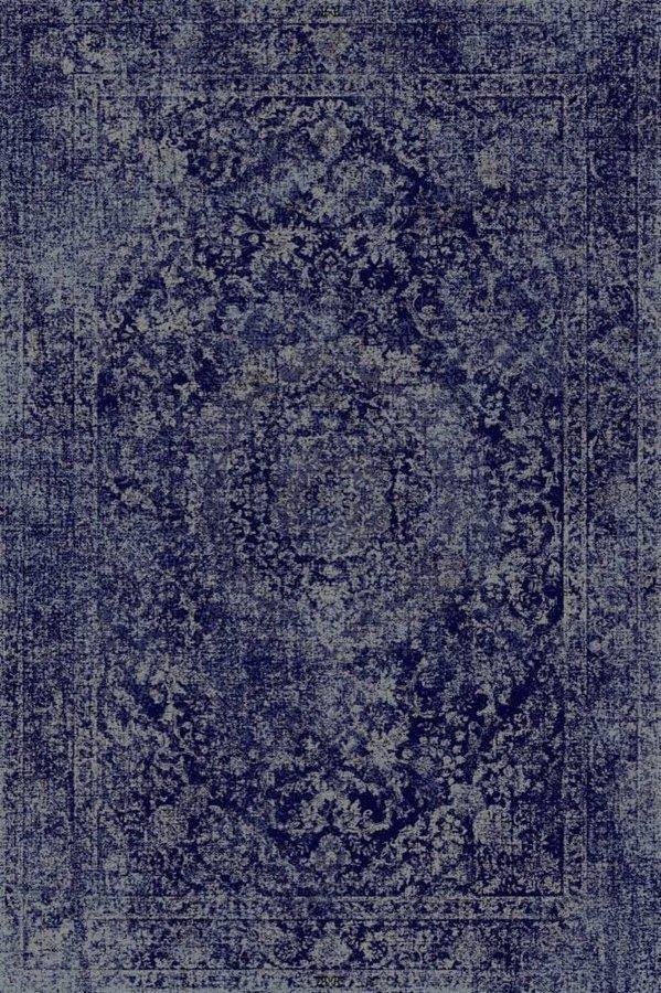 Modrý moderní kusový koberec Belize - délka 160 cm a šířka 85 cm