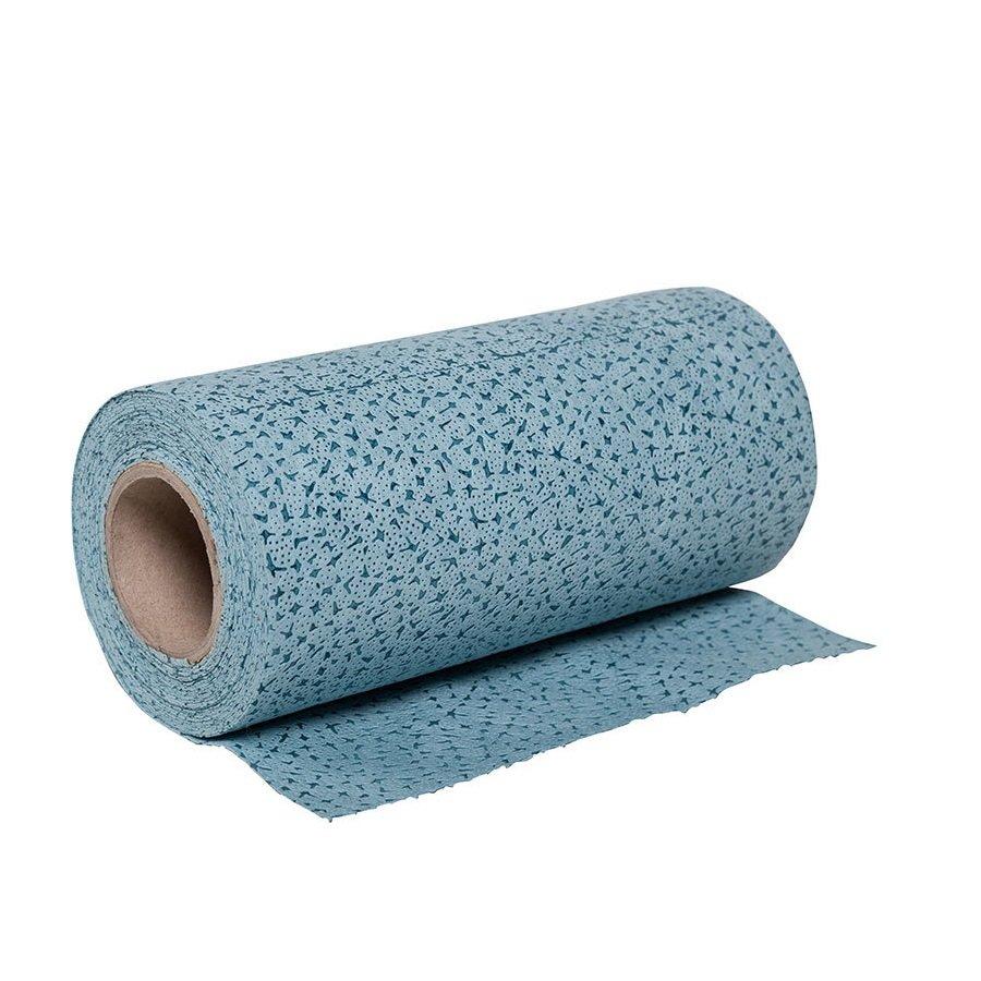 Textilní průmyslová rychlosavá čistící utěrka - délka 32 cm a šířka 30 cm - 100 útržků