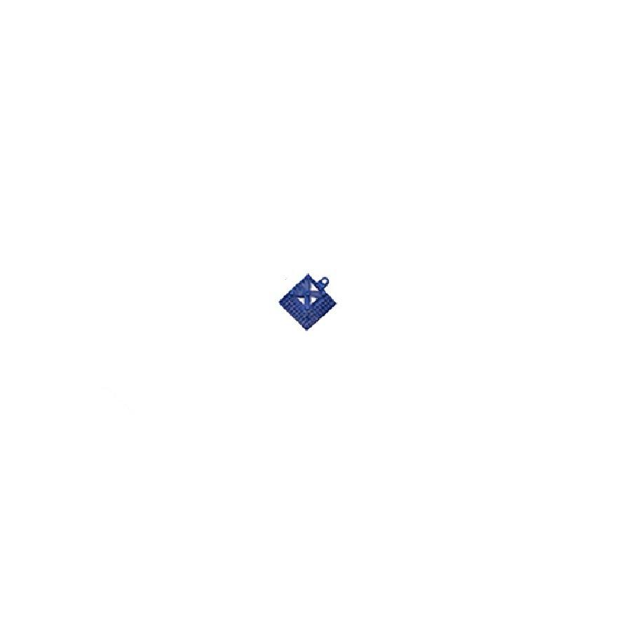Modrý náběhový roh pro dlaždice Lok-Tyle - délka 5 cm, šířka 5 cm a výška 1,43 cm