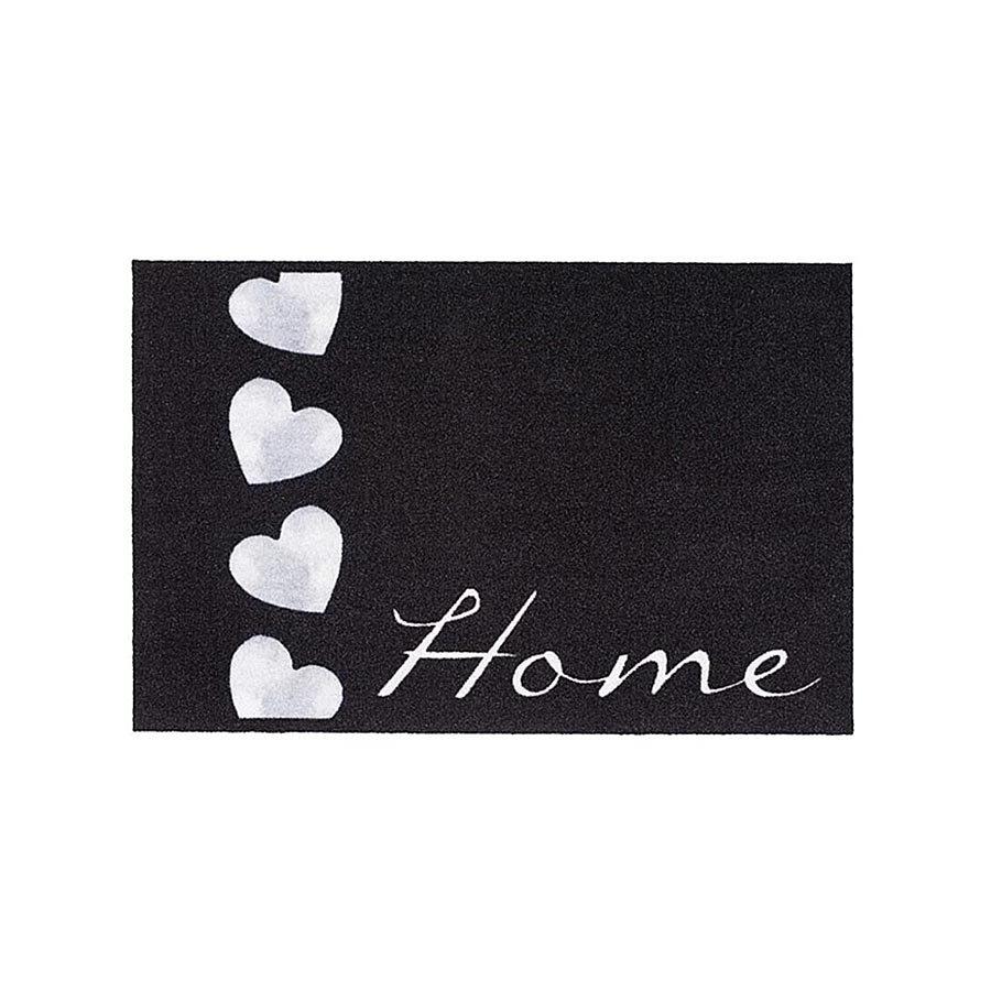 Vnitřní čistící vstupní rohož FLOMA Mondial Home - Hearts - délka 40 cm a šířka 60 cm