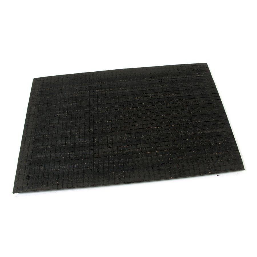 Kokosová čistící venkovní vstupní rohož Stripes, FLOMA - délka 40 cm, šířka 60 cm a výška 2,2 cm