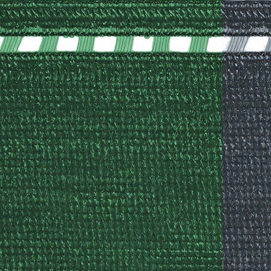 Zelená stínící tkanina na plot Coimbra - délka 50 m a výška 2 m