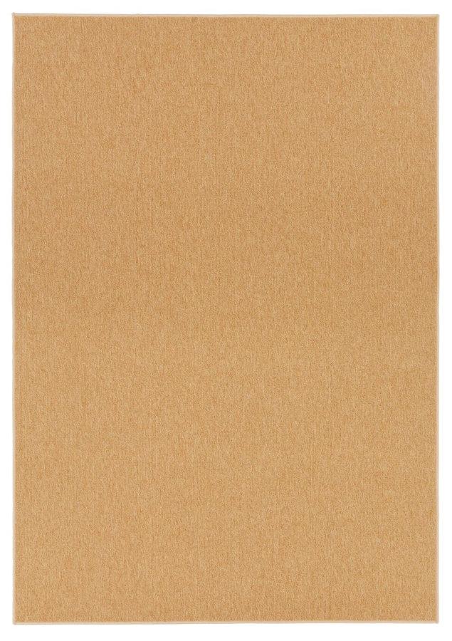 Světle hnědý kusový koberec Casual - šířka 80 cm