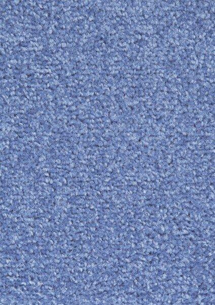 Modrý kusový koberec Nasty - délka 120 cm a šířka 67 cm