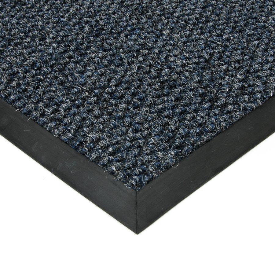 Modrá textilní zátěžová čistící vnitřní vstupní rohož FLOMA Fiona - výška 1,1 cm