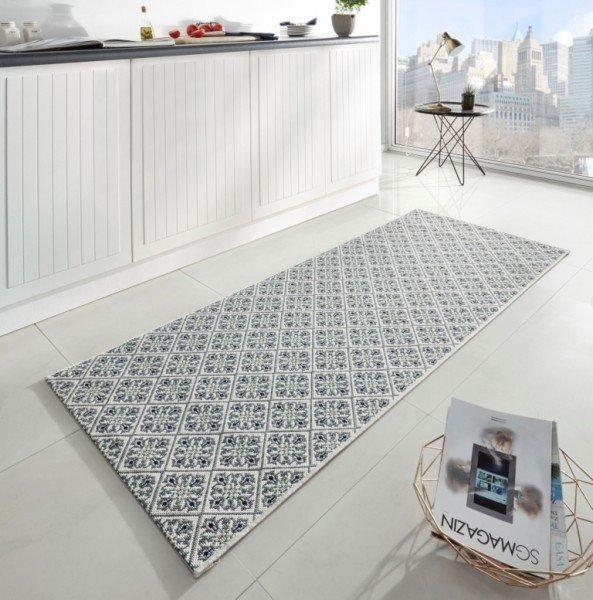 Různobarevný moderní kusový koberec Soho - délka 200 cm a šířka 80 cm