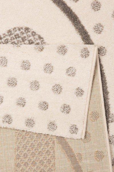 Béžový kusový dětský koberec Vini - délka 170 cm a šířka 120 cm